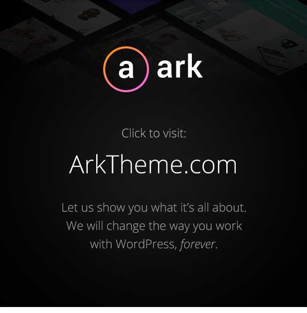 The Ark | WordPress Theme made for Freelancers - 3