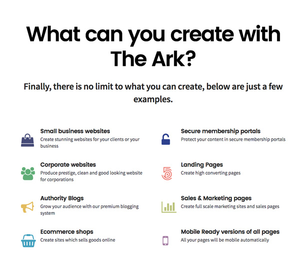 The Ark | WordPress Theme made for Freelancers - 6